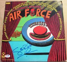 Ginger Baker signed LP Album Cover Ginger Baker's Air Force PSA/DNA Auto