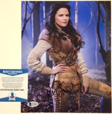 GINNIFER GOODWIN Autograph ONCE UPON A TIME Signed 11x14 Photo * BAS Beckett COA