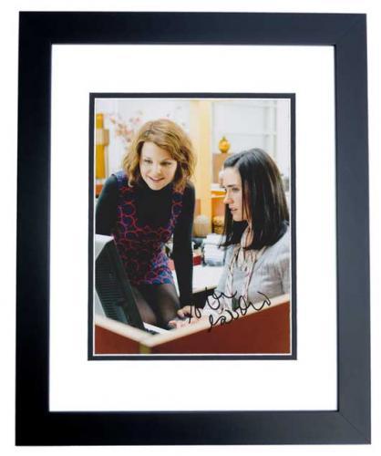 Ginnifer Goodwin Signed - Autographed Actress 8x10 inch Photo BLACK CUSTOM FRAME - Guaranteed to pass PSA or JSA