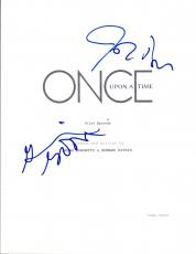 Ginnifer Goodwin & Josh Dallas Signed ONCE UPON A TIME Pilot Script COA VD