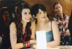 Ginnifer Goodwin Meghan Ory DUAL SIGNED 12x18 Photo Once Upon A Time PSA/DNA