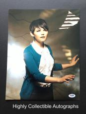 Ginnifer Goodwin Signed 11x14 Photo Autograph Once Upon A Time Psa Dna Coa