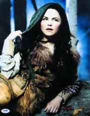 Ginnifer Goodwin Signed Autographed 11X14 Photo Once Upon a Time PSA U36263