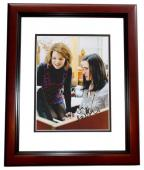 Ginnifer Goodwin Signed - Autographed Actress 8x10 inch Photo MAHOGANY CUSTOM FRAME - Guaranteed to pass PSA or JSA
