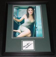 Ginnifer Goodwin Signed Framed 11x14 Photo Display Something Borrowed