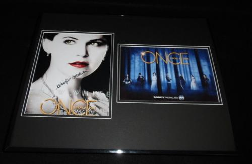 Ginnifer Goodwin Signed Framed 16x20 Photo Set Once Upon a Time Snow White