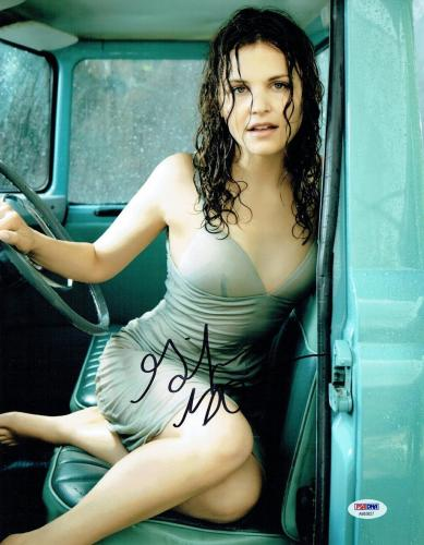 Ginnifer Goodwin Signed Sexy Authentic Autographed 11x14 Photo PSA/DNA #AB63827