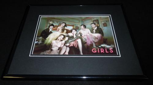 Girls HBO Cast Framed 11x14 Photo Display Lena Dunham Adam Driver