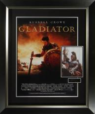 Gladiator Russell Crowe Signed Poster Framed Display