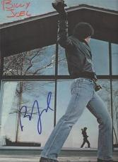 GLASS HOUSES signed BILLY JOEL - you may be right - PHOTO WITH