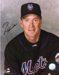 Fanatics Authentic Autographed Tom Glavine New York Mets 8'' x 10'' Sitting Photograph