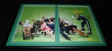Glee 2010 Fox Framed 12x18 ORIGINAL Vintage Advertising Display Cory Monteith