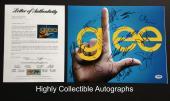 Glee Cast 15 Signed 11x14 Photo Autograph Psa Dna Coa Loa Cory Monteith