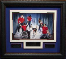GLEE Cast Signed 11x17 Framed Display
