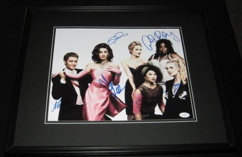 Glee Cast Signed Framed 11x14 Photo Poster JSA LOA