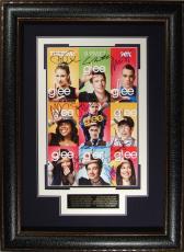 GLEE Cast Autographed 11x17 Framed Poster