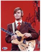 "Glen Campbell Autographed 8"" x 10"" Playing Guitar Photograph -BAS COA"