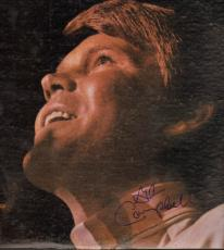 Glen Campbell Autographed Live Signed Album Cover W/Proof AFTAL