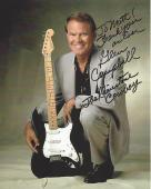 "GLEN CAMPBELL (COUNTRY/POP SINGER) Hits Include ""GENTLE ON MY MIND"", and ""GALVESTONE"" Inscribed to A Fan (Passed Away 2017) Signed 8x10 Color Photo"