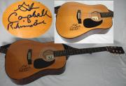Glen Campbell Hand Signed   Autographed Acoustic Guitar
