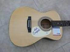 Glen Campbell Rhinestone Cowboy Signed Autographed Acoustic Guitar PSA Certified