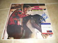 Glen Campbell Signed Autographed A Satisfied Mind LP Album Record PSA Certified