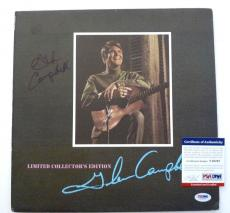 Glen Campbell Signed Autographed Collectors Edition LP Record BAS Certified
