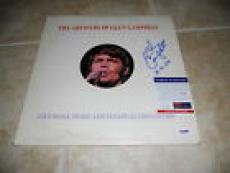 Glen Campbell Signed Autographed The Artistry Of LP Album Record PSA Certified