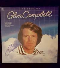 Glen Campbell Signed Best Of Record Album Vinyl