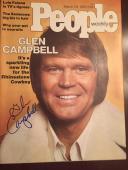 Glen Campbell Signed People Magazine PSA DNA JSA Guaranteed COA