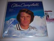 Glen Campbell The Best Of Jsa/coa Signed Lp Record Album