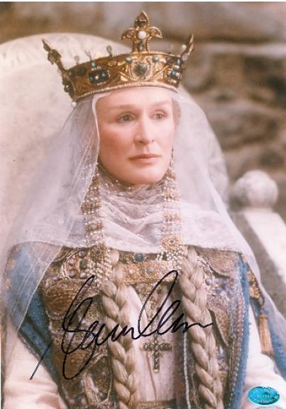 Glenn Close autographed 8x10 Photo (Actress)  Queen
