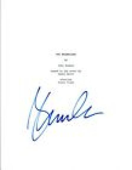 Glenn Close Signed Autographed 101 DALMATIANS Movie Script COA VD