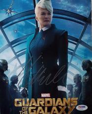 Glenn Close Signed Guardians Of The Galaxy 8x10 Photo Auto Autograph PSA Y34654