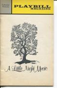 Glynis Johns Len Cariou Stephen Sondheim A Little Night Music Jan 1973 Playbill