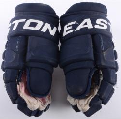 Marcel Goc Florida Panthers Game-Used Easton Pro Pair of Hockey Gloves - Mounted Memories