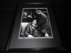 Godfather Marlon Brando & Al Pacino Framed 11x14 Photo Poster