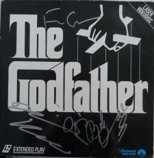 Godfather Signed Authentic Autographed Album Cover 5 Sigs PSA/DNA #Z09467