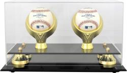 Golden Classic Double Baseball Display Case