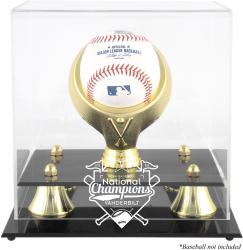 Vanderbilt Commodores 2014 College World Series Champions Golden Classic Single Baseball Logo Display Case