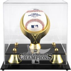 Boston Red Sox 2013 MLB World Series Champions Golden Classic Baseball Display Case - Mounted Memories