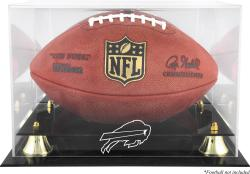 Buffalo Bills Team Logo Football Display Case