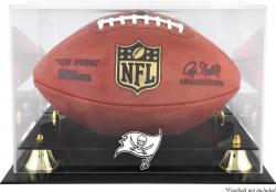 Tampa Bay Buccaneers Team Logo Football Display Case