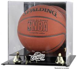 Cleveland Cavaliers Golden Classic Team Logo Basketball Display Case