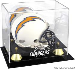 San Diego Chargers Mini Helmet Display Case