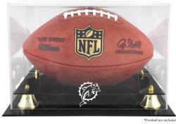Miami Dolphins Team Logo Football Display Case