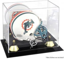 Miami Dolphins Mini Helmet Display Case