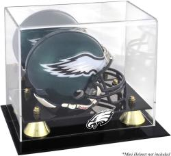Philadelphia Eagles Mini Helmet Display Case