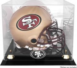 San Francisco 49ers Helmet Display Case - Mounted Memories