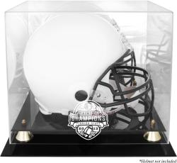Florida State Seminoles (FSU) 2013 BCS National Champions Golden Classic Logo Helmet Display Case with Mirror Back